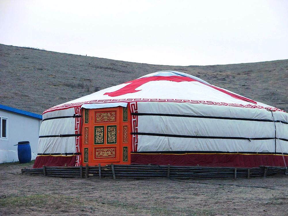 Jurte, Princess Lodge, Khan Khentii Nationalpark, Mongolei Rundreise